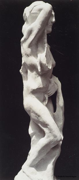 Untitled   49cm Tall  *    plaster (bronze model)  -    2009