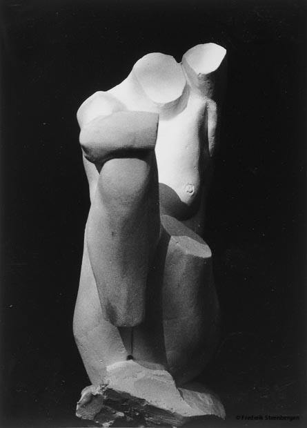Untitled   48cm Tall *    plaster (study)  -   2004