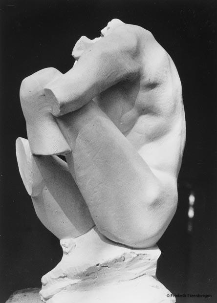 untitled    49cm Tall  *    plaster (study)  -   2005