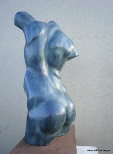 """ Hommage to Nicoladze ""    43cm Tall  *    bronze - 2014"