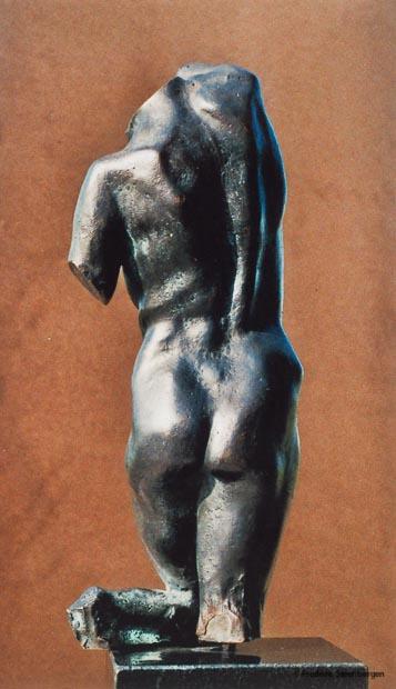 """"""" Equilibrium """"   26cm Tall  *   bronze - 2006  ( unicum )"""