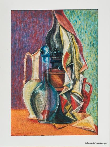 Untitled     49x37cm soft-pastel on carton  -  2007
