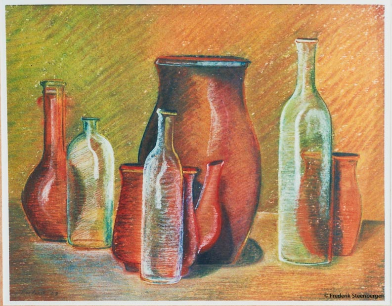 Untitled     39x31cm soft-pastel on paper  -   2008