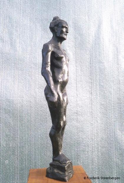 """"""" Remaind Olga """"  52cm Tall  *     bronze - 2005  (unicum)"""