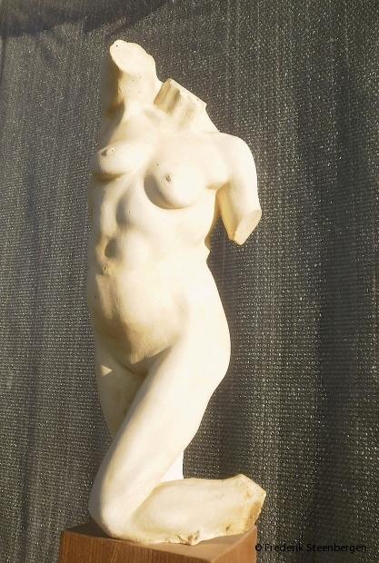 """"""" Equilibrium """"   28cm Tall    *     plaster (bronze model)  -   2007"""