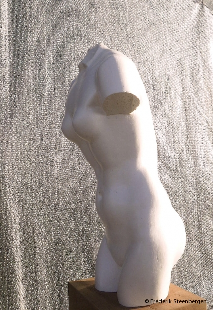 Untitled    54cm Tall   *     plaster (bronze model) -   2015